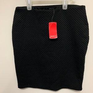 Forever21 Texture Dot Pattern Mini Skirt